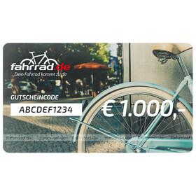 fahrrad.de Geschenkgutschein 1000 €